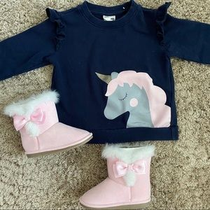 Cotton On Kids Unicorn Sweater